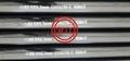 ASTM A335/ASME SA335高溫用鐵素體合金無縫鋼管 5