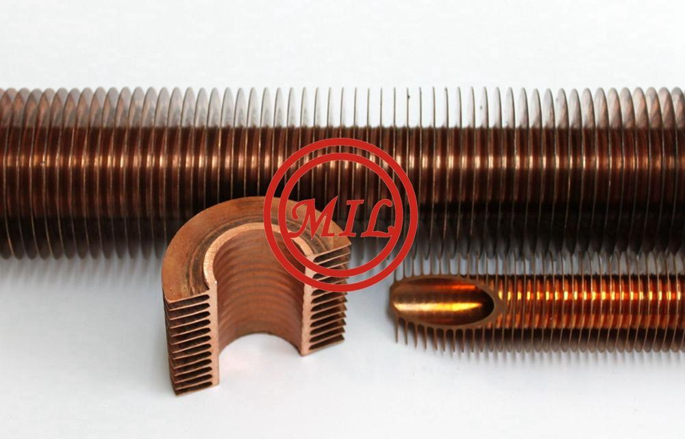 heat_exchanging_copper_spiral_finned_tube_with_extruding_process