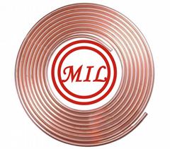 ASTM B68,ASTM B280,ASTM B743,DIN1787,EN 1057,EN 12735-1 Pancake Coil Copper Tube