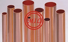 ASTM B68, ASTM B280,ASTM B819,BS 2871-3,EN 12735,AS 1571 HVACR Copper Tube