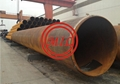 JIS A5525 SKK400 STEEL PIPE PILES WITH REINFORCING RINGS