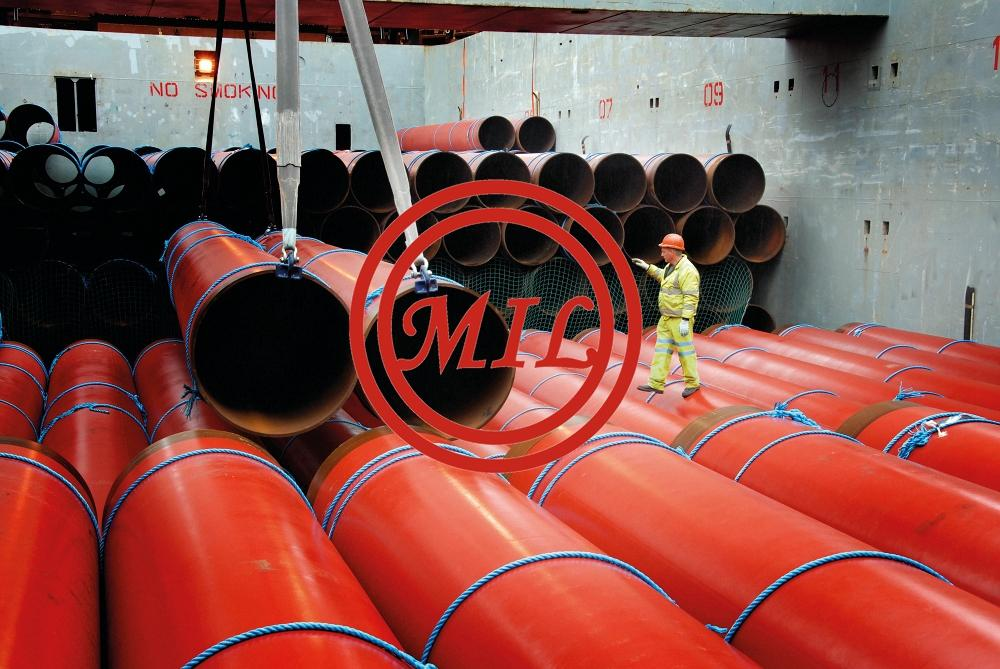 DNV OS-F101 SAWL L450+ISO 21809-2 FBE COATED STEEL PIPE