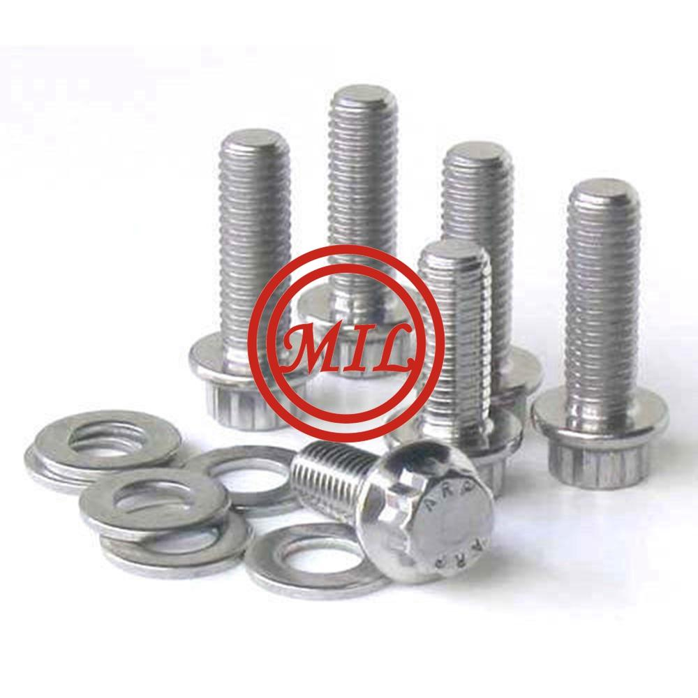 DIN931 316 stainless steel hex bolt