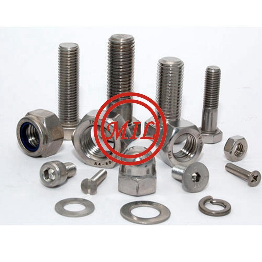 A182 F51 Bolt Nut, UNS S31803 Stud bolt, 1.4462 Duplex Stainless steel bolt