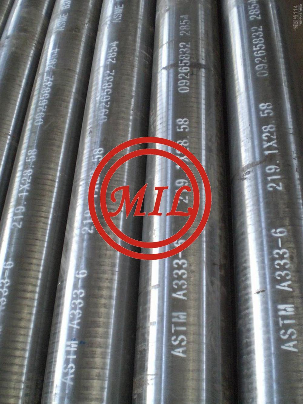 ASTM A333 GR.6 SMLS PIPE