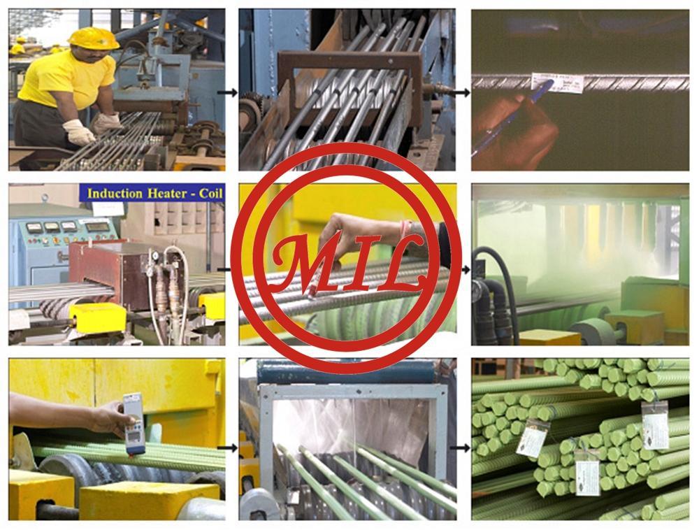 環氧塗敷混凝土鋼觔、螺紋鋼 6