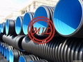 ISO 21138,EN 13476,EN 50086,DIN 16961 HDPE Double-Wall Corrugated Pipe