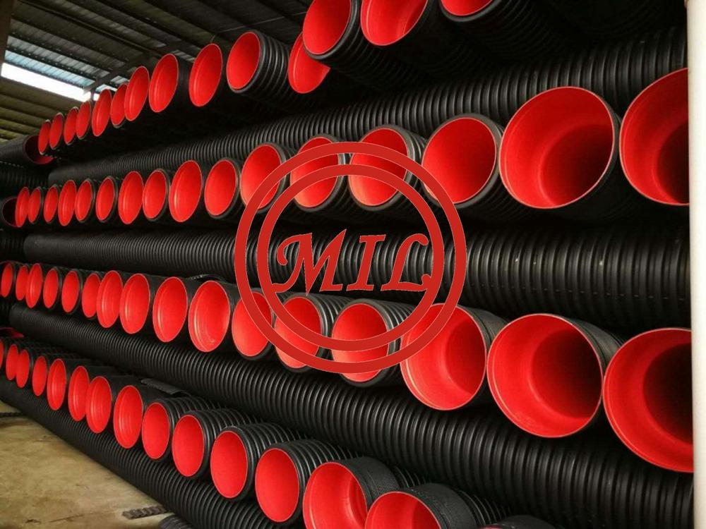 HDPE DOUBLE-WALL RIBBED CORRUGATED PIPE