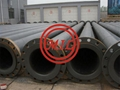 LINED STEEL UHMWPE DREDGE PIPE