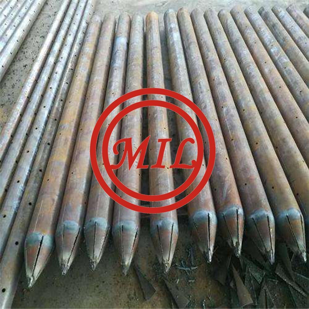 尖頭型鋼管樁-ASTM A252,AS 1163,EN 10219-1,JIS 5525 7