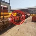 ASTM A252,EN10025-2,EN10219-1,DIN 17120,BS 3601,DIN 1626 PILING PIPES WITH STUDS