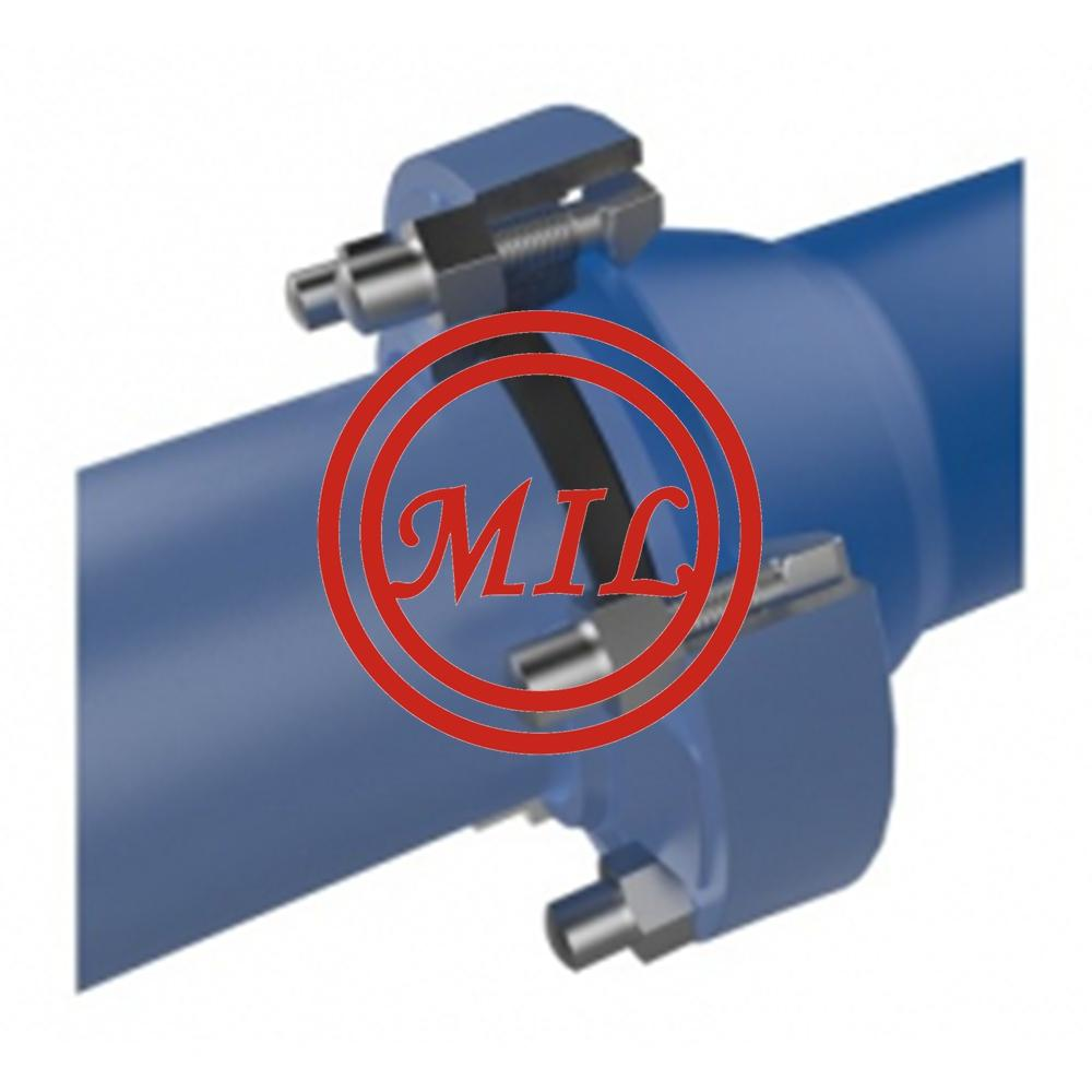 Ductile iron pipe with mechanical socket joint system (RAJ)