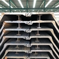 ASTM A252, ASTM A572,JIS A5530,EN 10219-1 STEEL PIPE SHEET PILES