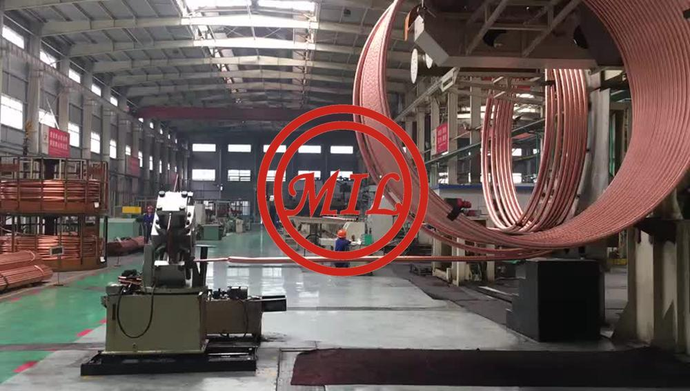 水平纏繞空調製冷銅管-ASTM B280 LWC 8