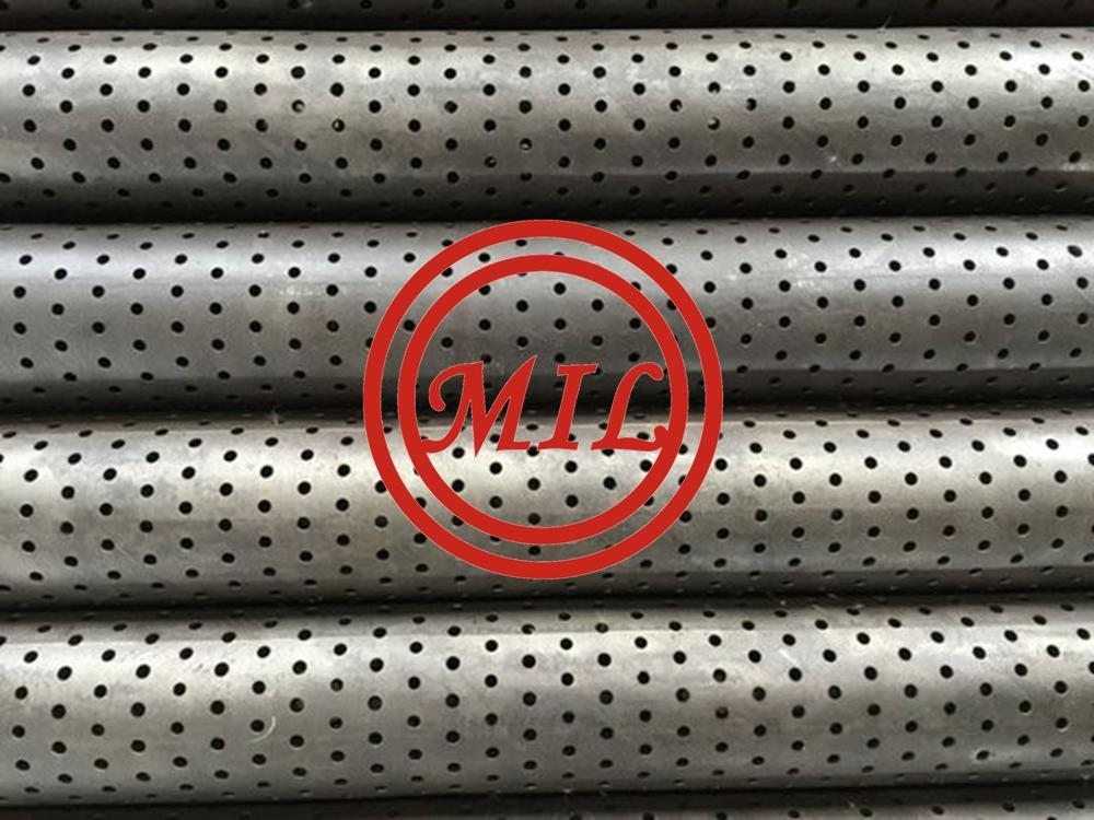 "7 7/8"" Perforated Exhausting Pipe,Stainless Steel"