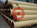 ISO2531 K9 Ductile Iron Pipe Internal Polyurethane Coating