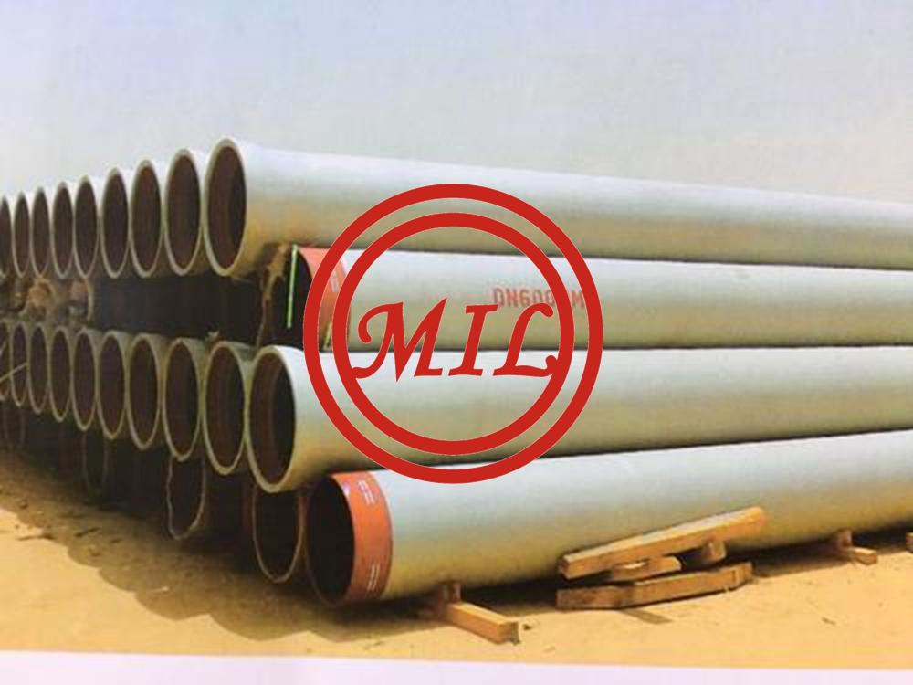 ISO2531 Jacket Pipe Ductile Iron Wear Resistant For Steam Supply