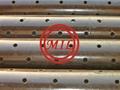 API 5CT H40,J55,K55,N80 Perforated Liner / Pre-perforated Casing