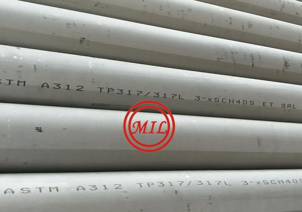 ASTM A312 TP317/317L-stainless-steel-pipes-DN80-3inch-sch40S
