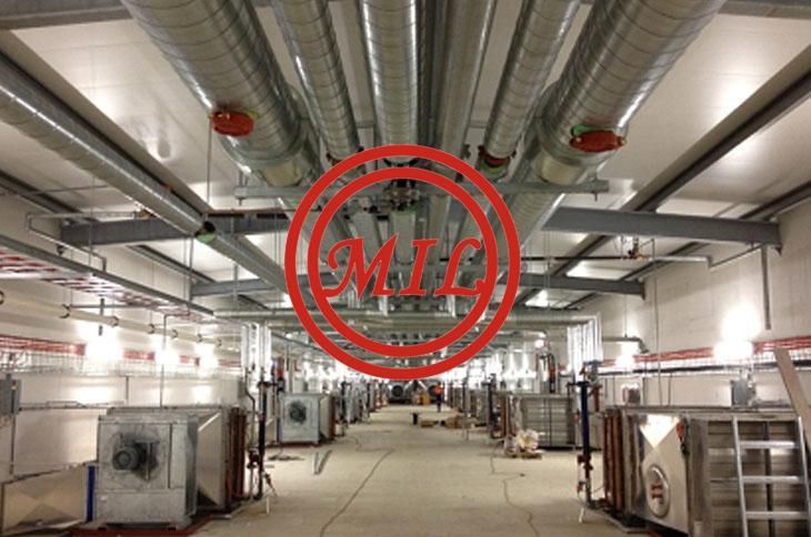 FRP-RTRP HVAC system