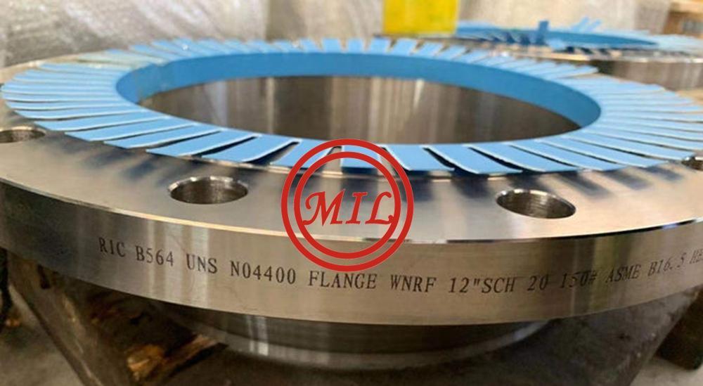 B564 UNS N04400 ASME B16.9 Class 150 Wnrf Flanges