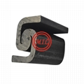 Sheet piling corner sections connectors interlocks for steel tubular pile 2