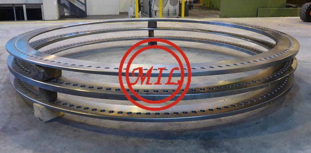 Flanges for foundations,offshore wind towers