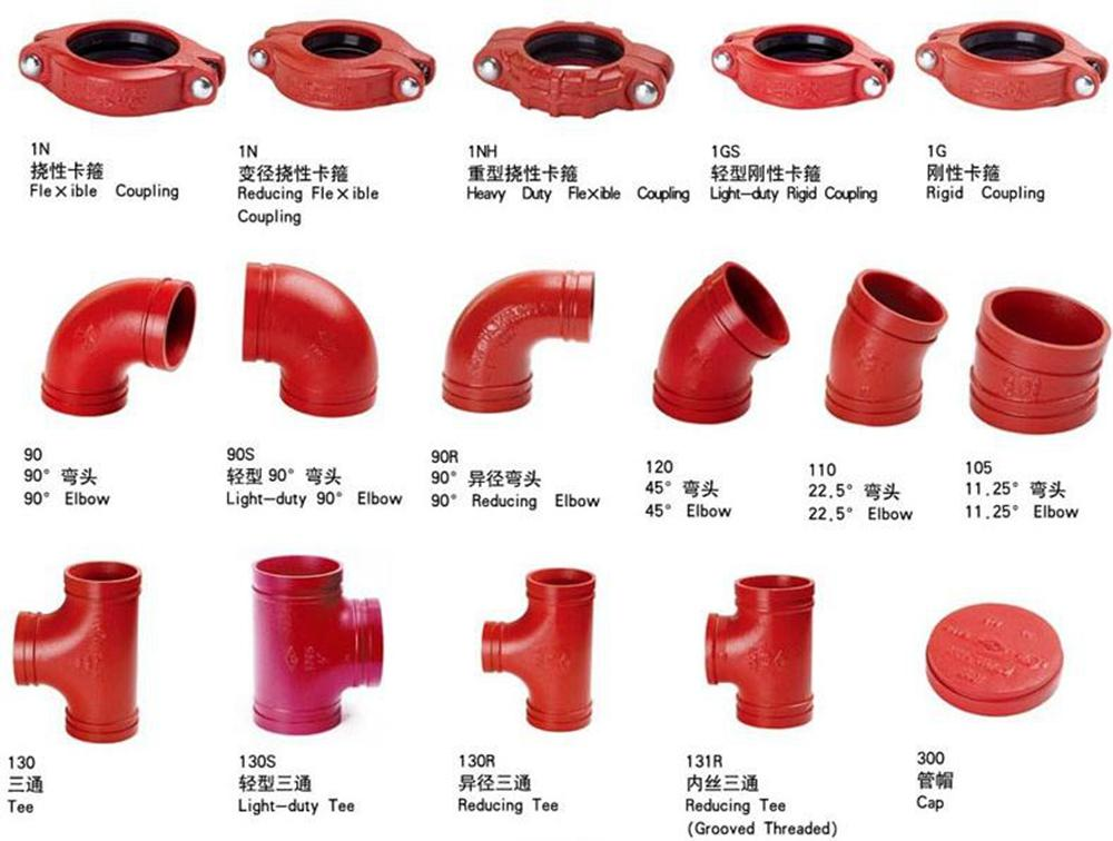 Ductile Iron Grooved Fittings