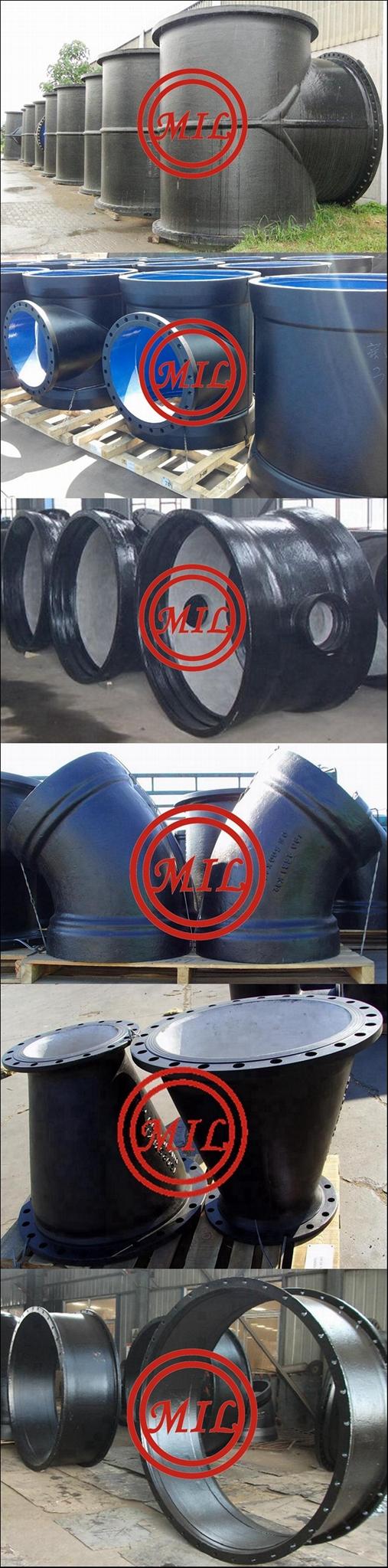 BS EN545 Ductile Iron Pipe fittings