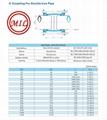 EN 545,EN 598,ISO 2531, ISO 4633,BS EN 877,BS 4772 DUCTILE IRON PIPE FITTINGS