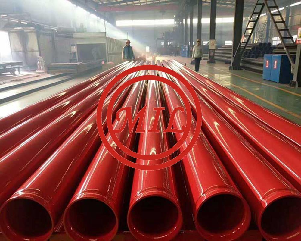 TUBES EPROUVES SELON EN 10217-1/EN 10217-2  P235 TR1 / P235 TR2 ROLL GROOVED PIPE