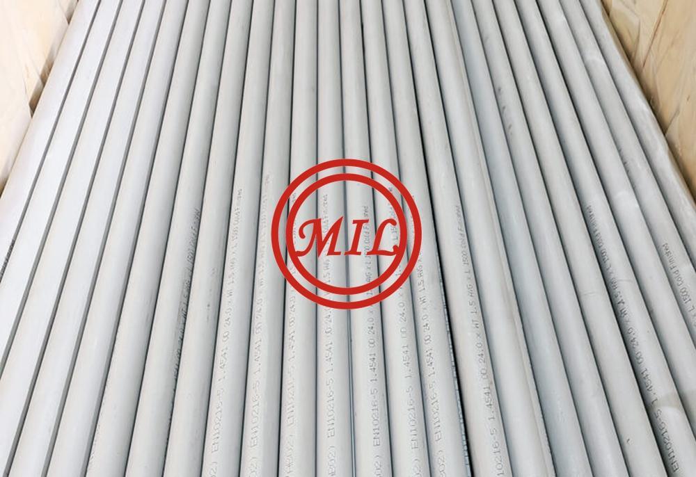 EN 10216-5 1.4541-Stainless-Steel-Tubes