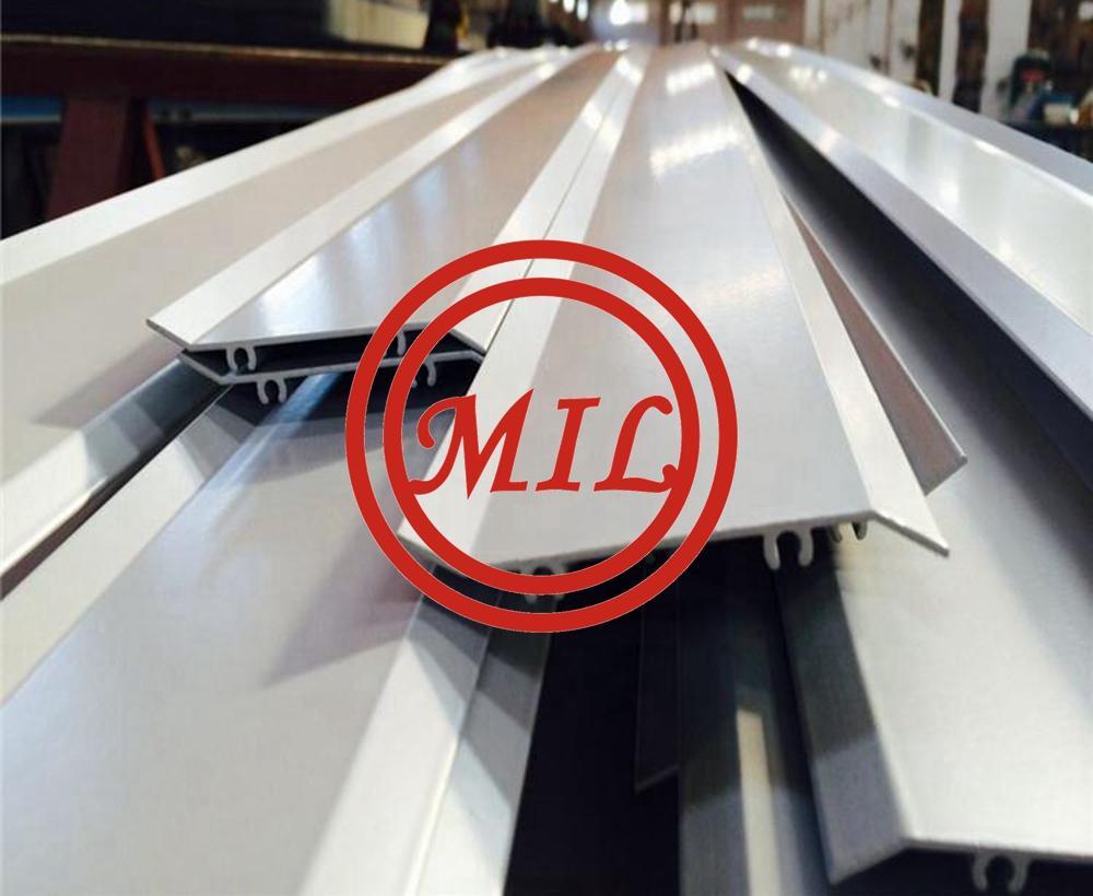 Extrusion Aluminum Shutter Profile