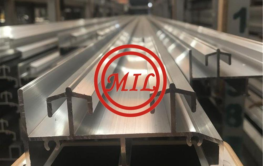Slotted Aluminum Profile