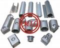 Powder coating surface aluminum profile