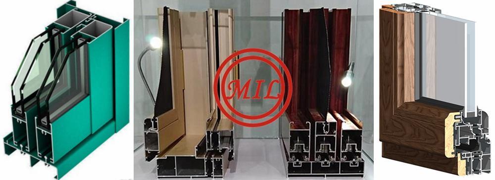 Horizontal sliding Window Aluminum Profile 6063/6005 T5/T6