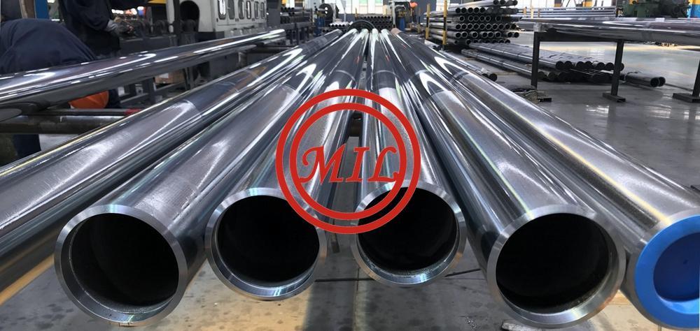 4130 / 25CrMo4 / SCM430 Hydraulic Cylinder Steel Tube Honing / Skiving