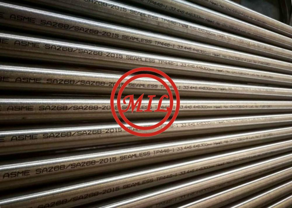 ASTM A268 TP446-1 High Chromium Ferritic seamless Stainless Steel Pipe, UNS S44600 Pipe/1.4762 tube