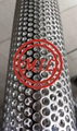 Stainless Steel Perforated Water Filter Pipe with Round Holes