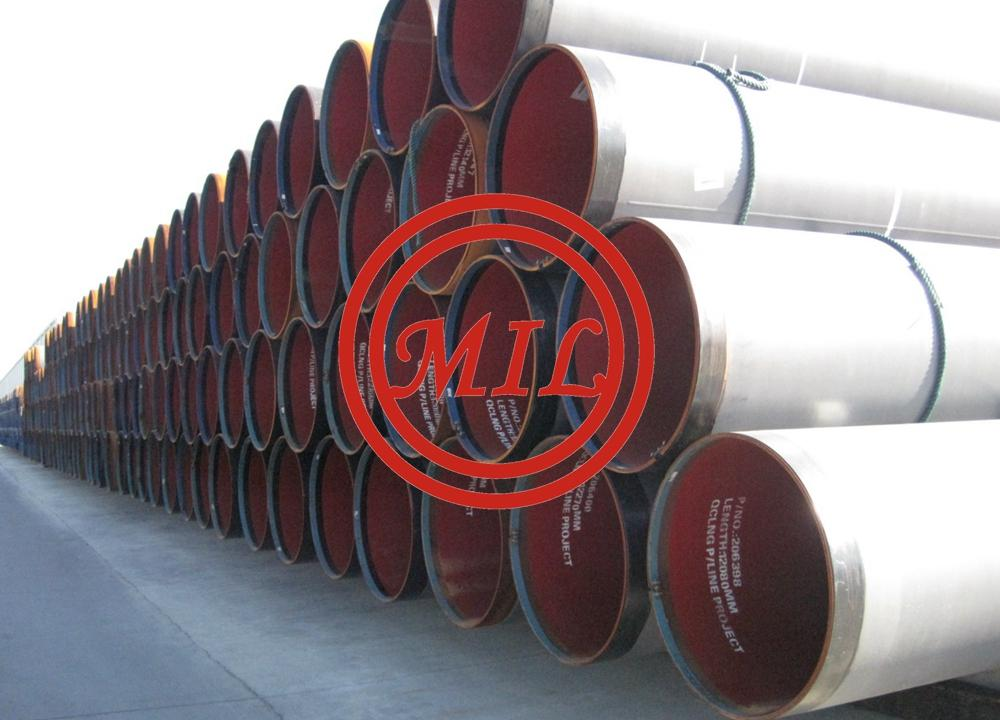 API 5L X70 PSL 2/AS 2885-1 L485MB+CAN UOE SAWL STEEL PIPE/CSA Z245.20/AS 2862 DFBE COATINGS+API RP 5L2 EPOXY LINING