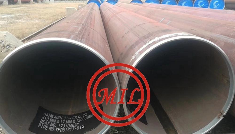 ASTM A691 1.25CR C22 EFW PIPE