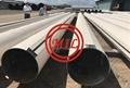ASTM A252,EN 10219 combination wall PIPE PILE WITH P-P,P-T,L-T,C9-C6,ZK CLUTCH