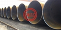 ASTM A225 AWWA C200 SSAW spiral steel pipe