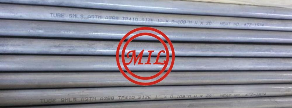ASTM_A269 TP410_Seamless Stainless Steel Tubing