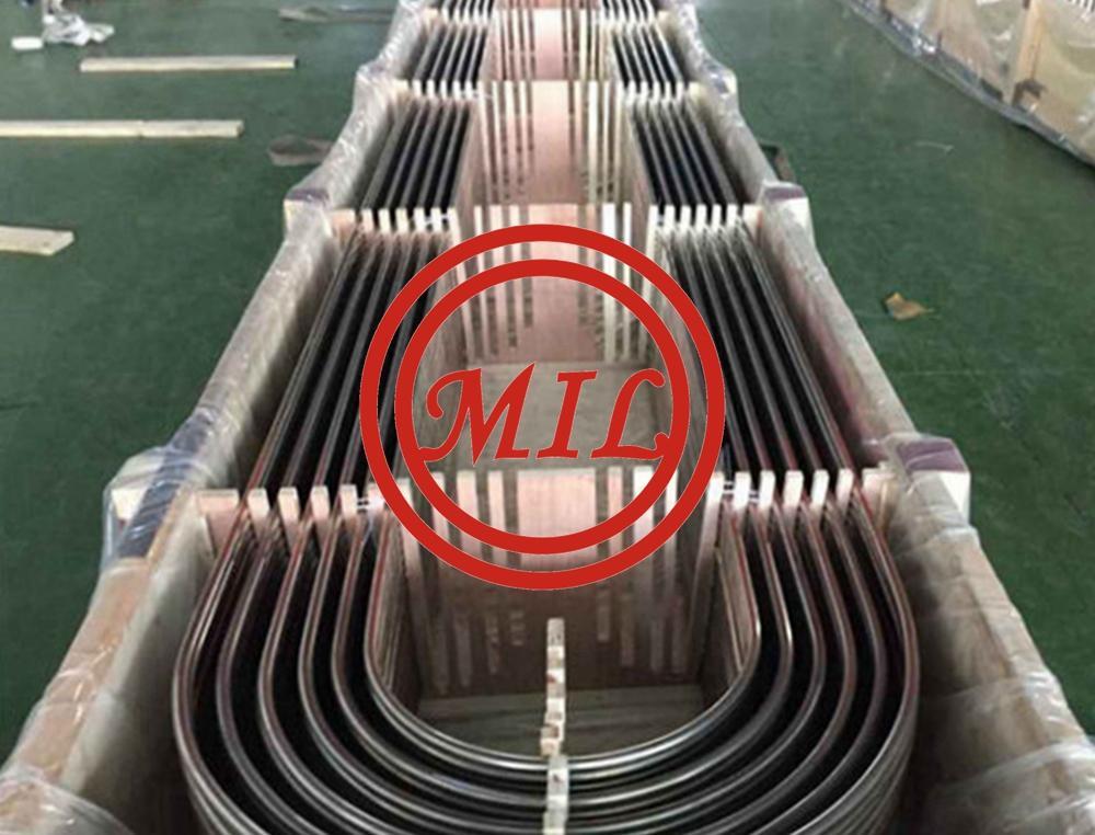 High P ressure Seamless Steel U Bend Tube