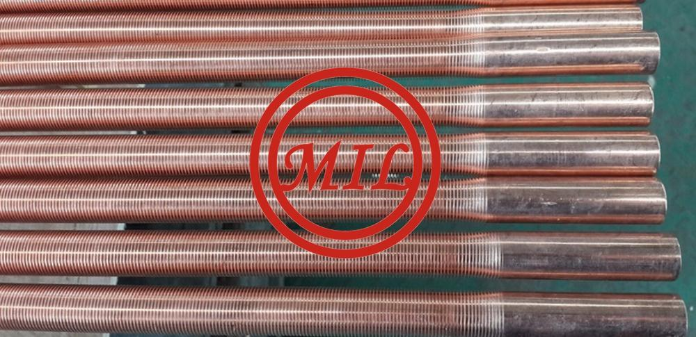 Low Fin Seamless Copper Tube for Evaperators