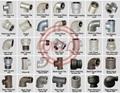 BS EN 10242 / ASME B16.3 malleable cast iron galvanized steel pipe fittings
