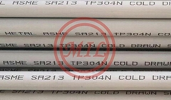 304N,309S,310S,316Ti,317L,321/321H,347/H STAINLESS STEEL TUBE
