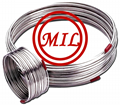 aisi 312 arc welded 304 316l stainless steel cooling coil tube