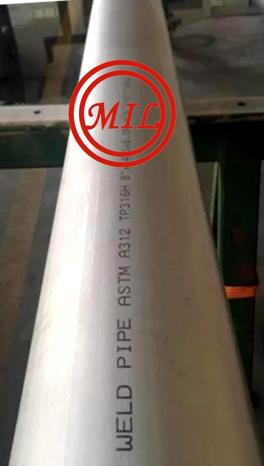 ASTM A312 TP316H stainless_steel_welded_tube